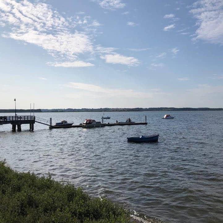 Willa Davia łodzie rybackie